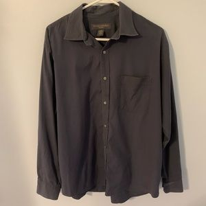 Banana Republic men's large bluish gray shirt